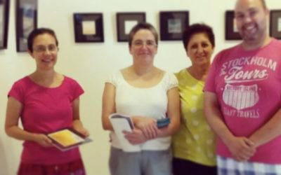 Exposición Arena, Espuma y Bruma en La Caldereta, julio 2015