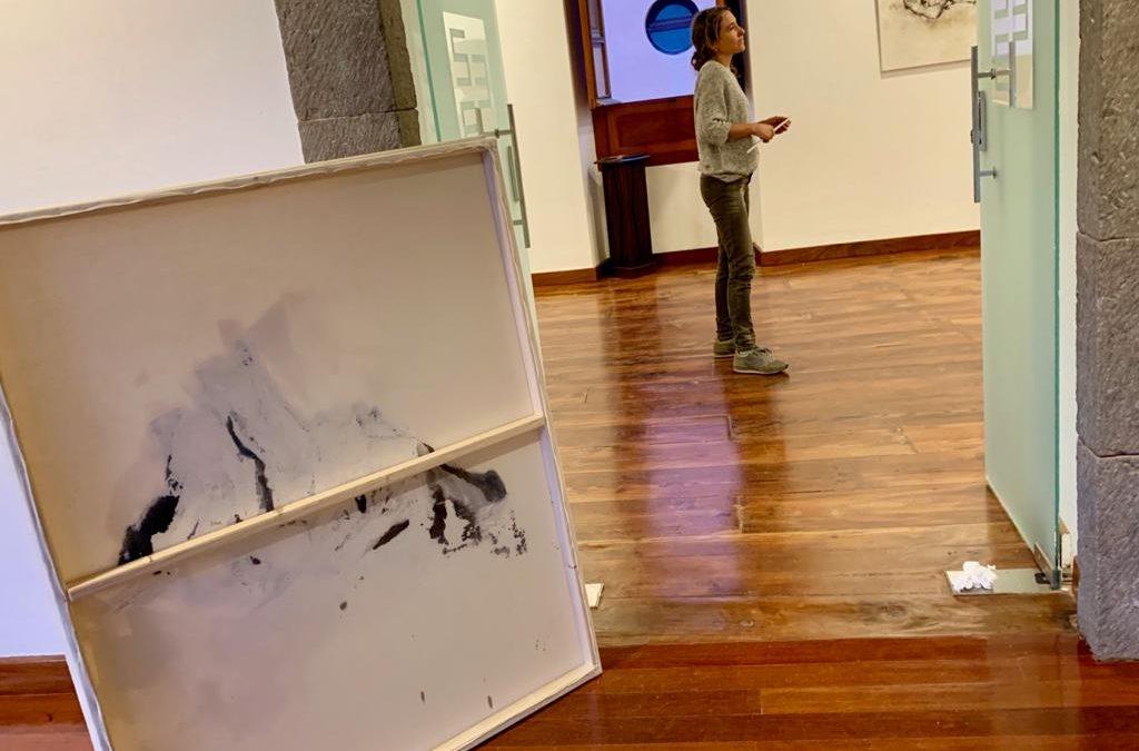 El mundo continuo discontinuo de Elena Hidalgo