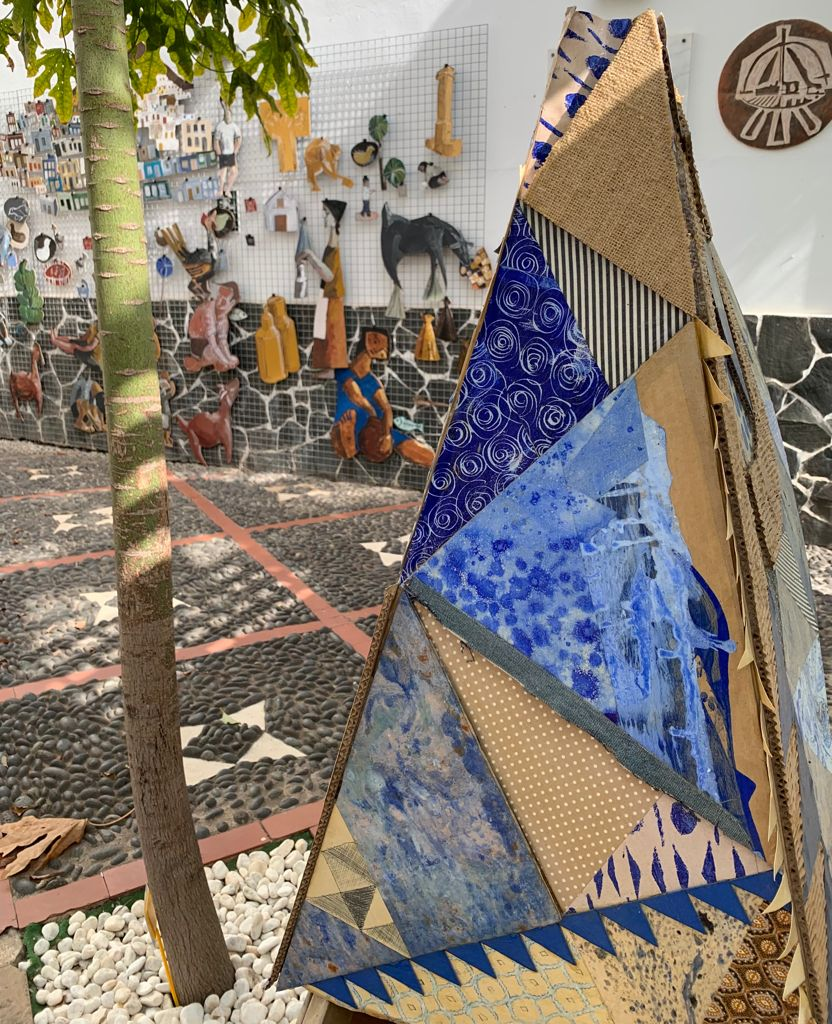 Espacio dedicado al mural Deconstruyendo a Antonio Padrón.